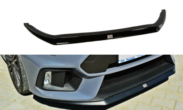 MAXTON DESIGN FRONT SPLITTER V.2 |  FORD FOCUS RS MK3
