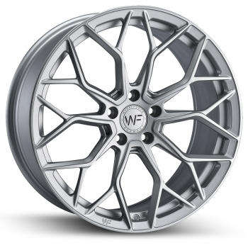 "WHEELFORCE SL.1-FF 19"" RADSATZ FROZEN SILVER 
