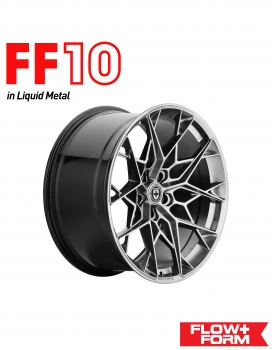 "BMW M4 F82 20"" HRE FLOWFORM FF10 FELGENSATZ IN LIQUID METAL"