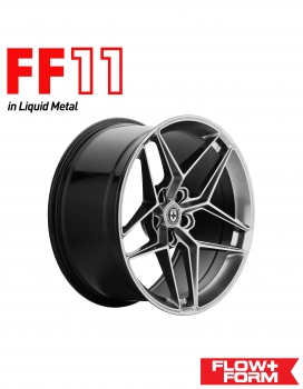 "BMW M3 F80 20"" HRE FLOWFORM FF11 FELGENSATZ IN LIQUID METAL"